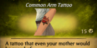 Mother's Day Flower Arm Tattoo