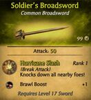 Soldier's Broadsword