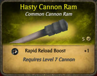 Hasty Cannon Ram 2010-12-24
