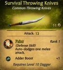 SurvivalThrowingKnives