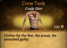 Crew Tank - clearer