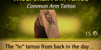 Tribal Skull Arm Tattoo
