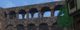 Kingshead Armory bridge