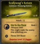 Scallywag's Knives