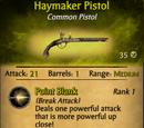 Haymaker Pistol