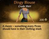 F Dingy Blouse