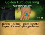 GoldenTurquoiseRing