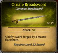 Ornate Broadsword2
