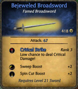 Bejeweled Broadsword 2010-11-27