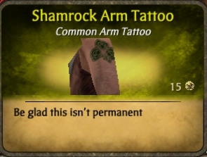 File:Shamrock Arm Tattoo (2).jpg