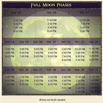Curse Moon Phases
