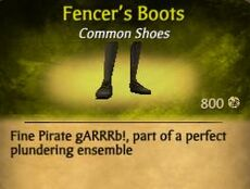 F Fencer's Boots