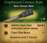 Greyhound Cannon ram