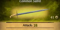Fencer's Sabre