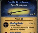 Gorilla Broadsword