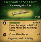 Freebooter's Sea Chart