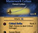 Masterwork Cutlass