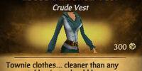 Loose Buttoned Vest