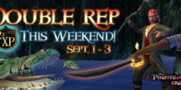 Double Reputation Weekend