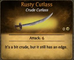 Rusty cutlass clearer