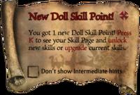 Scroll NewDollSKillPoint