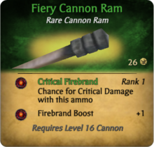 Fiery Cannon Ram