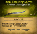 Tribal Knives - clearer