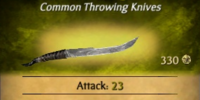Tribal Throwing Knives