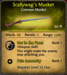 Scallywag's Musket