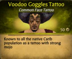 Voodoo Goggles Tattoo