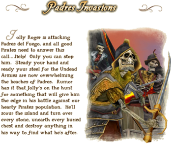 Padres Invasions lore