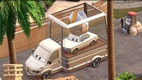 Cars 2 pope