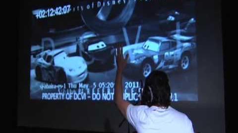 Disney Pixar España Cars 2 Doblaje Fernando Alonso