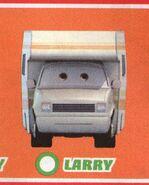 Larry's front