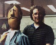 AlPhoto 1981 CalArts JoeAlPuppet
