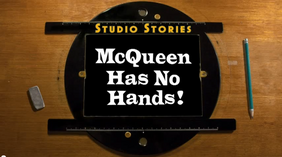 McQueen Has No Hands! Title Card