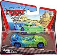 Carla veloso cars 2 short card