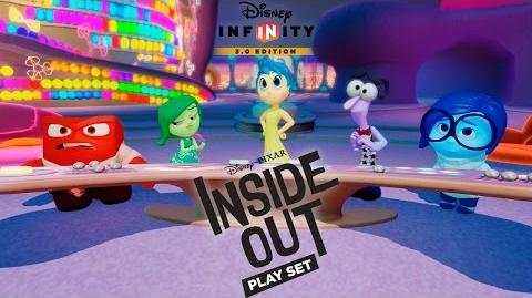 Inside Out Play Set - Disney Infinity 3