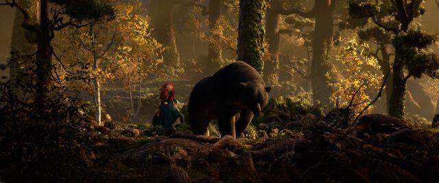 File:Brave mother bear forest.jpg