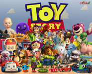 Toystory severalcharacterfrom12ad3