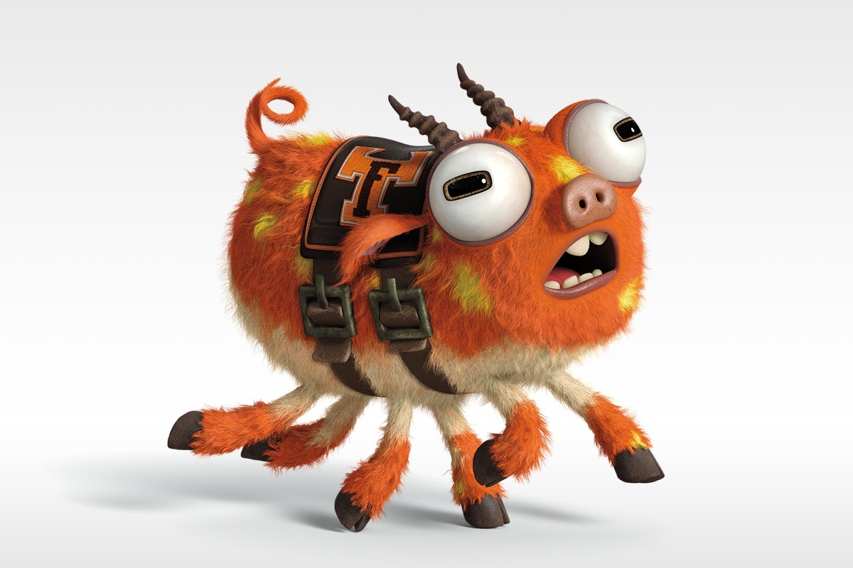 Archie the scare pig pixar wiki fandom powered by wikia for Archi monstre