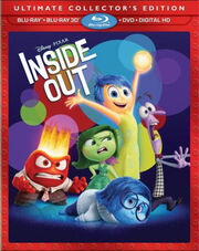 Inside Out BluRay Collectors Edition