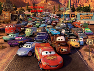 Cars Toons Fighting Justice Wallpaper