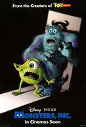 Monsters, Inc-Scream poster