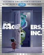 Monsters, Inc. 3D Blu-ray Combo Pack