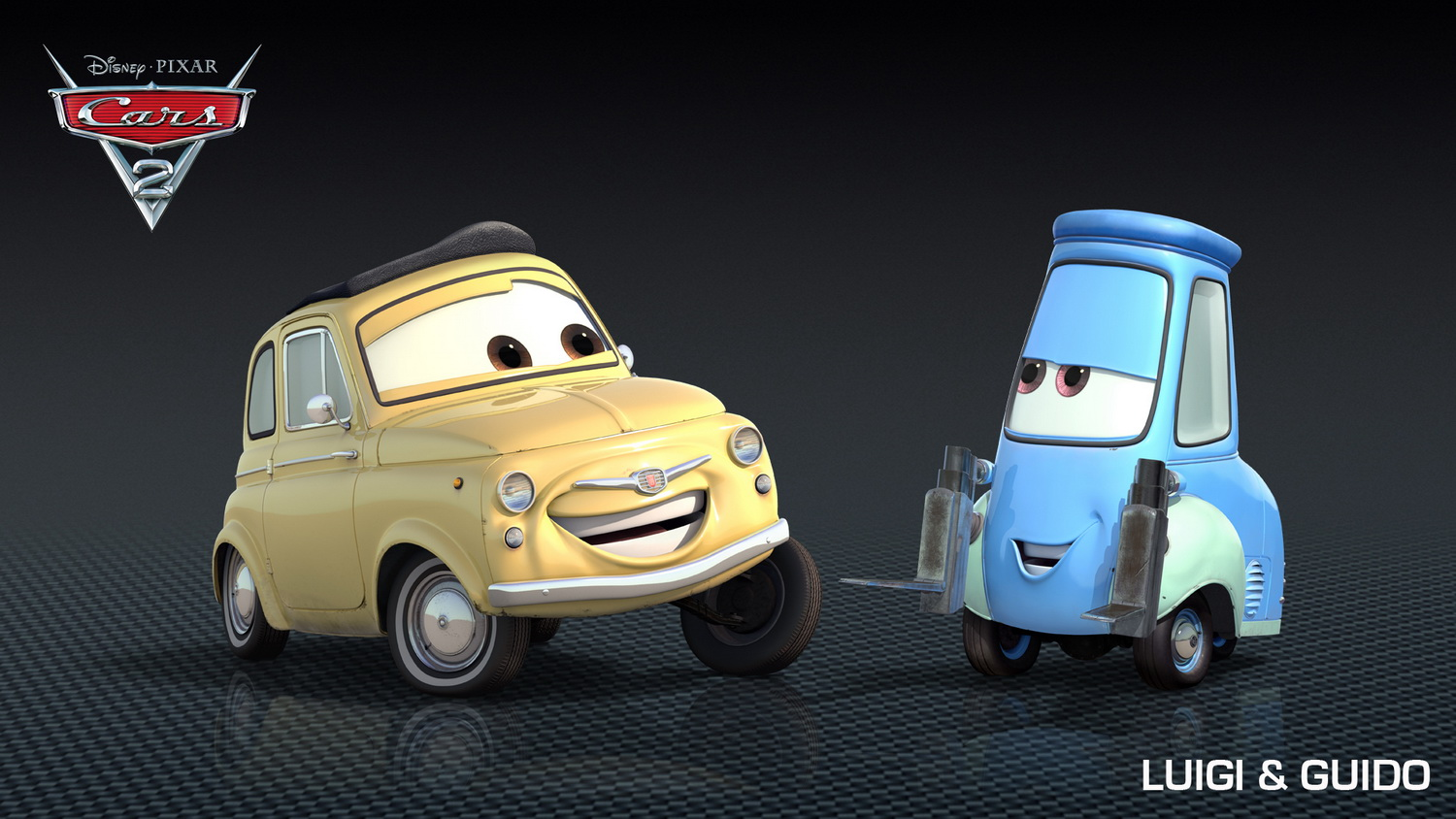 Guido And Luigi Cars