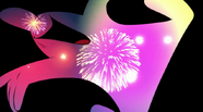 Night-Firework Explosion