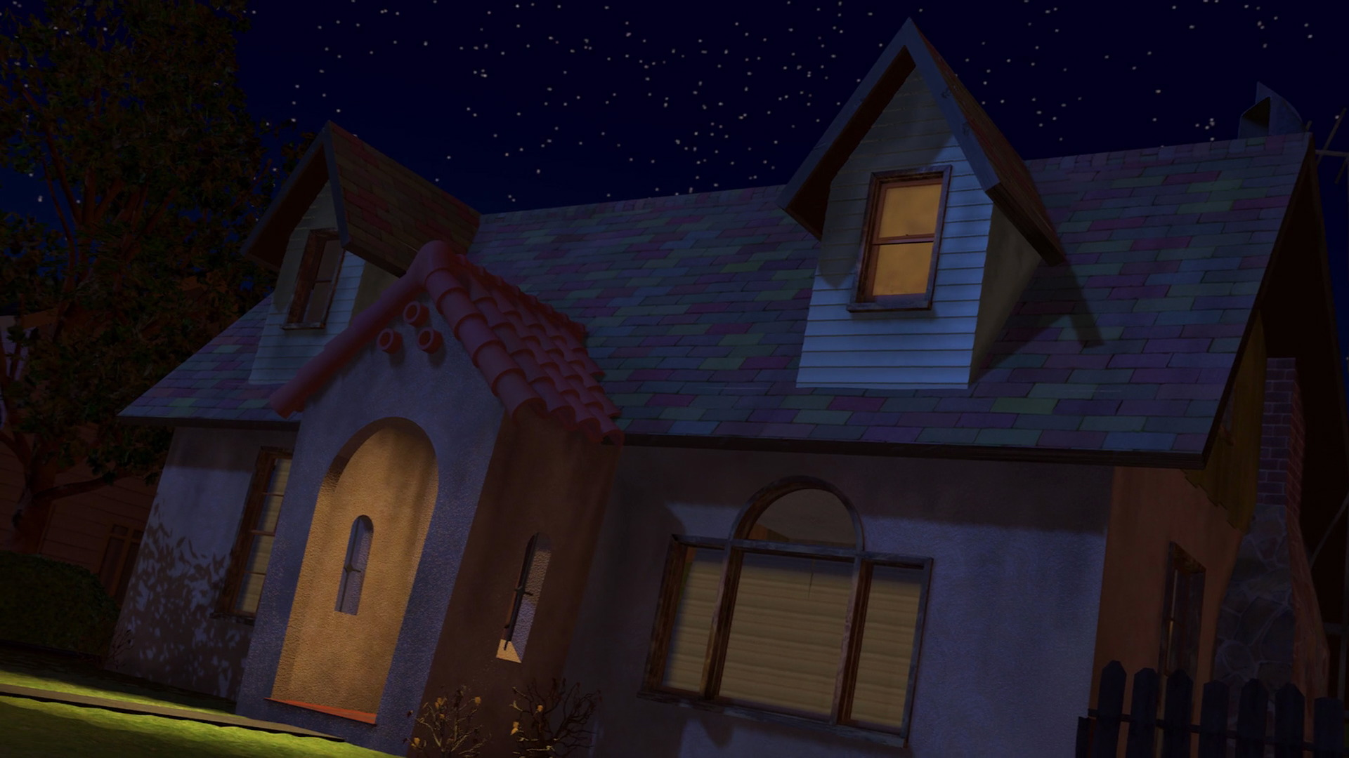 Sid 39 s house pixar wiki fandom powered by wikia for What is a shouse house