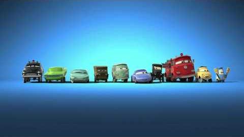 Disney Pixars CARS 2 - Gratulation Sebastian Vettel