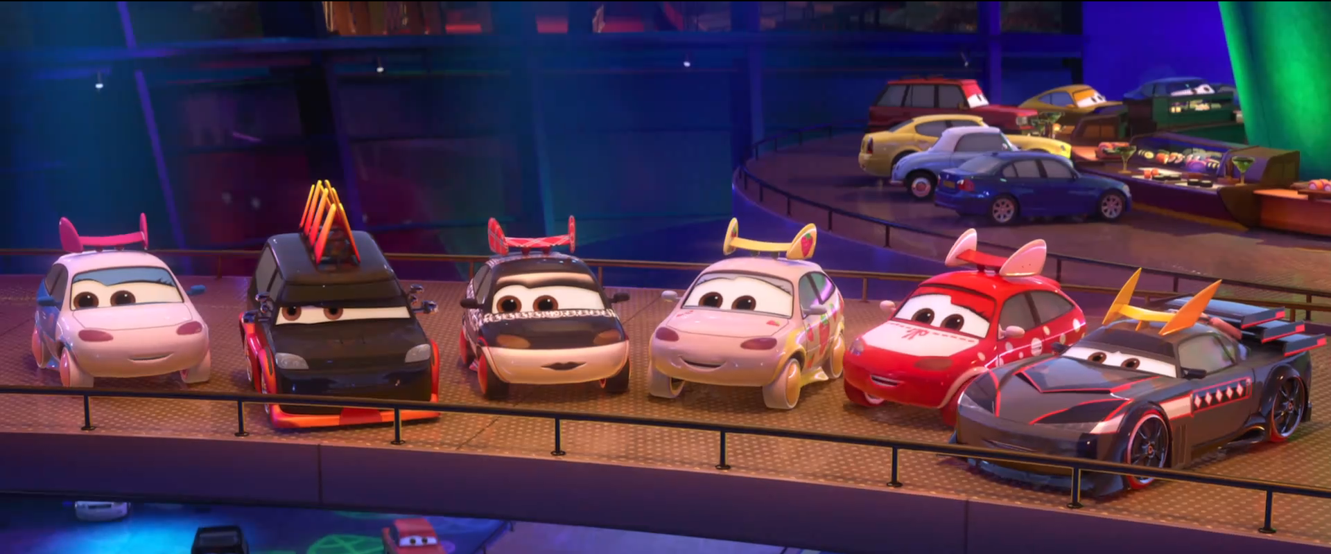 Image - Tokyo Mater Characters In Cars 2.png